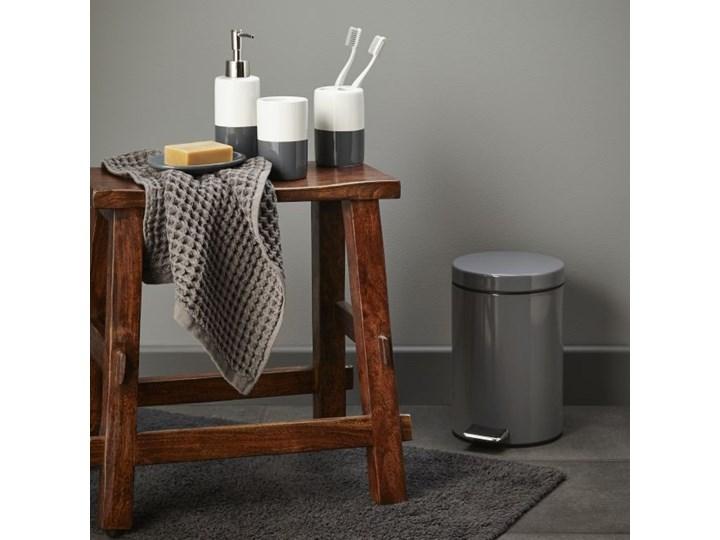 Dywanik łazienkowy bawełniany Diani 50 x 80 cm szary 50x80 cm Prostokątny Bawełna Kategoria Dywaniki łazienkowe