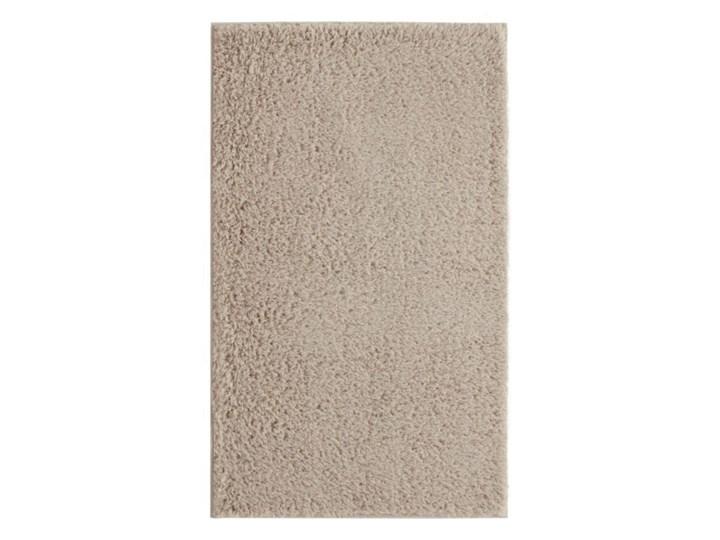 Dywanik łazienkowy Minicio 50 x 80 cm beżowy Poliester 50x80 cm Prostokątny Kategoria Dywaniki łazienkowe