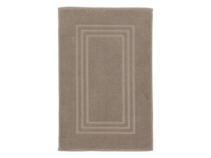 Dywanik łazienkowy Palmi bawełniany 50 x 80 cm taupe