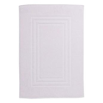 Dywanik łazienkowy Palmi bawełniany 60 x 90 cm biały