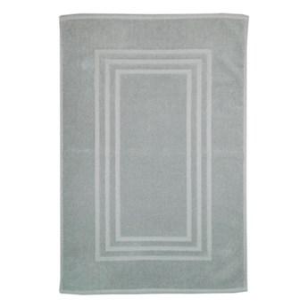Dywanik łazienkowy Palmi bawełniany 60 x 90 cm srebrny