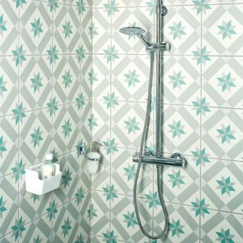 Kolumna prysznicowa GoodHome Weddell śr. 30 cm 3-funkcyjna z baterią termostatyczną