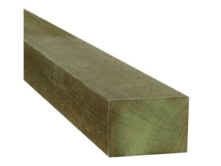 Legar tarasowy drewniany Blooma 2400 x 38 x 62 mm sosna Drewno Kategoria Deski tarasowe Kolor Zielony