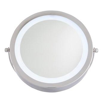 Lusterko okrągłe 20 x 22 cm z oświetleniem LED
