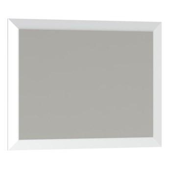 Lustro prostokątne Mirano Vena 75 x 60 cm w ramie białe
