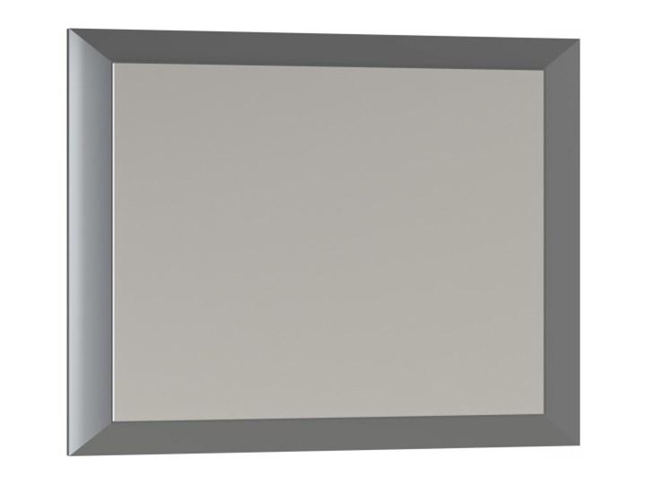 Lustro prostokątne Mirano Vena 75 x 60 cm w ramie szare