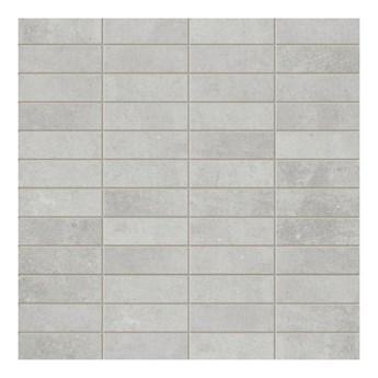 Mozaika Minimal Arte prostokąty 29,8 x 29,8 cm szara