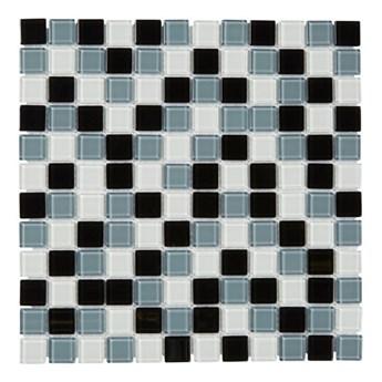 Mozaika Terente Colours 30 x 30 cm black