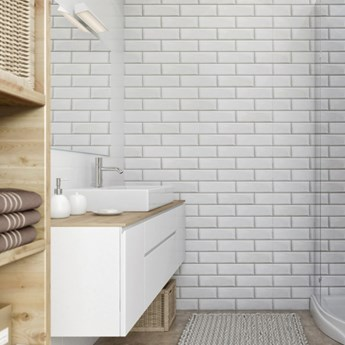Panel ścienny PCV Vilo Motivo 250/D white brick 2,624 m2