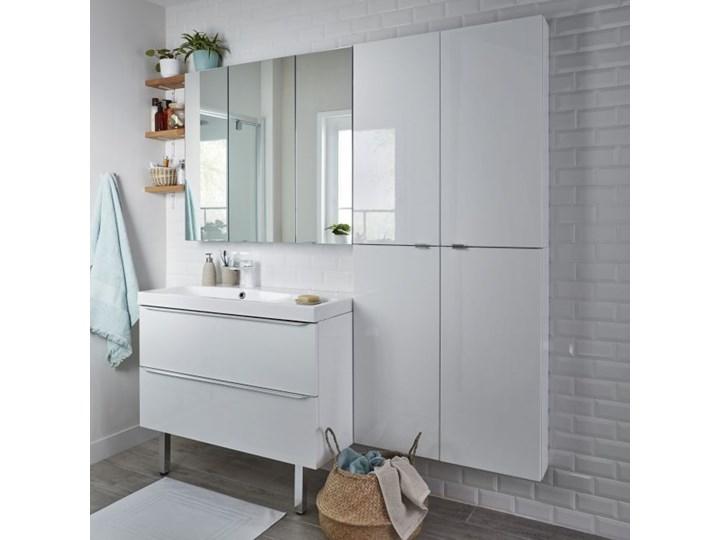 Umywalka konglomeratowa GoodHome Mila 100 cm z syfonem Prostokątne Kategoria Umywalki