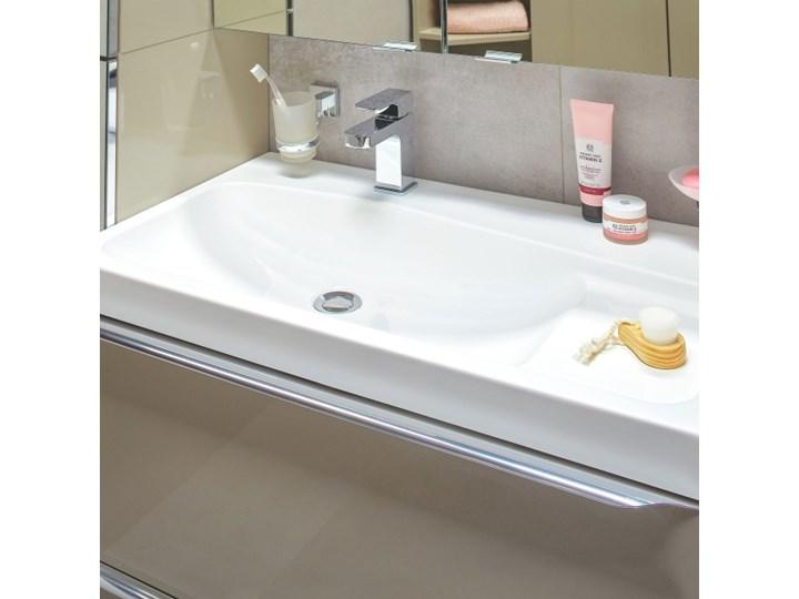 Umywalka konglomeratowa GoodHome Mila 60 cm z syfonem