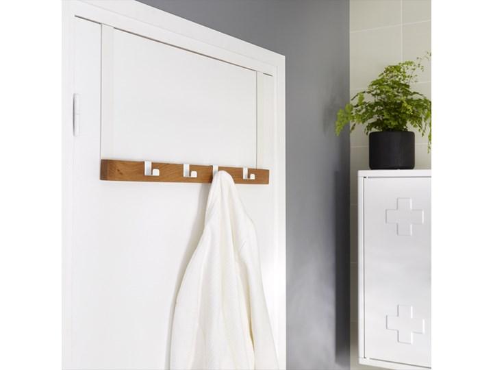 Wieszak na drzwi GoodHome Nantua Stal Kategoria Wieszaki i uchwyty łazienkowe Kolor Beżowy