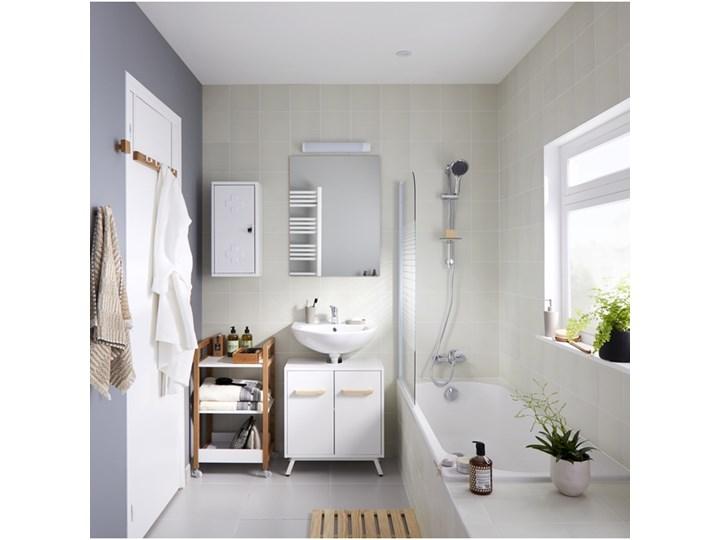 Zestaw prysznicowy Bilis 4-funkcyjny chrom Kategoria Zestawy prysznicowe Wyposażenie Z drążkiem
