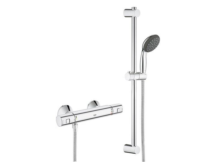 Zestaw prysznicowy Grohe Precision 1-funkcyjny z baterią termostatyczną chrom Wyposażenie Z termostatem Wyposażenie Z słuchawką