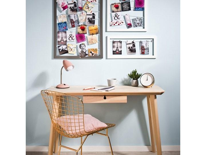 Galeria na zdjęcia 40 x 50 cm sznurkowa biała Kolor Szary Tworzywo sztuczne Ramka na zdjęcia Pomieszczenie Sypialnia