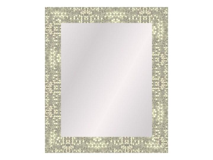 Lustro prostokątne Honey 40 x 50 cm w ramie złote
