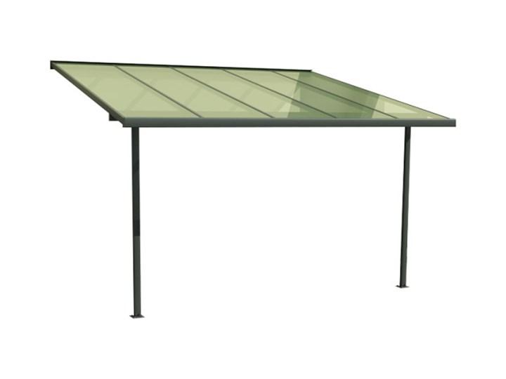 Pergola aluminiowa 3 x 3 m szara