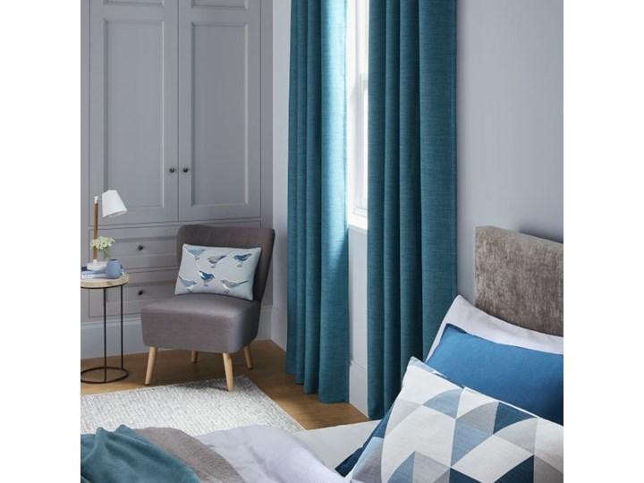 Poduszka GoodHome Rima 40 x 60 cm niebieska 40x60 cm Poduszka dekoracyjna Bawełna Prostokątne Poliester Kolor