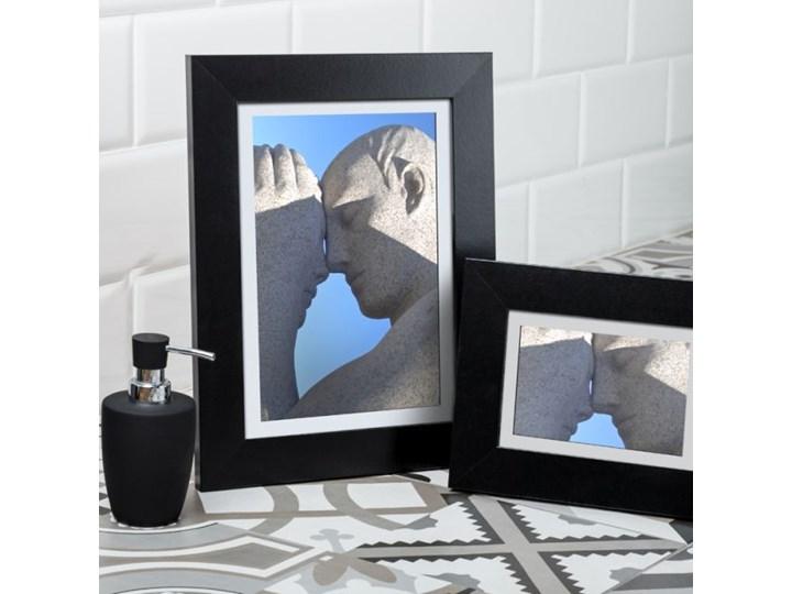 Ramka na zdjęcia Lahti 15 x 21 cm czarna Drewno Kategoria Ramy i ramki na zdjęcia Kolor Czarny