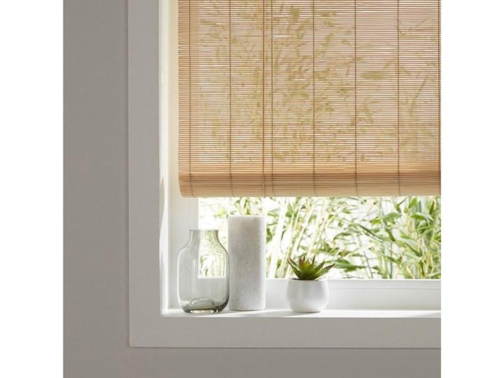 Roleta Bambus 90 x 180 cm natural Roleta wolnowisząca Wzór Paski