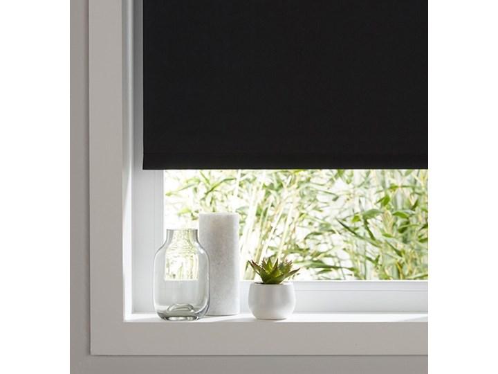 Roleta Colours Boreas 97 x 180 cm czarna Roleta wolnowisząca Kolor Czarny Pomieszczenie Salon