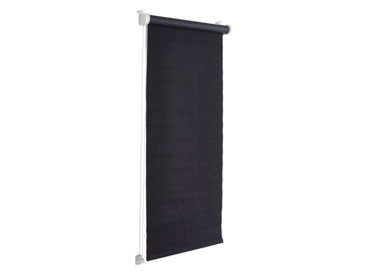 Roleta Colours Boreas 97 x 180 cm czarna Roleta wolnowisząca Pomieszczenie Sypialnia