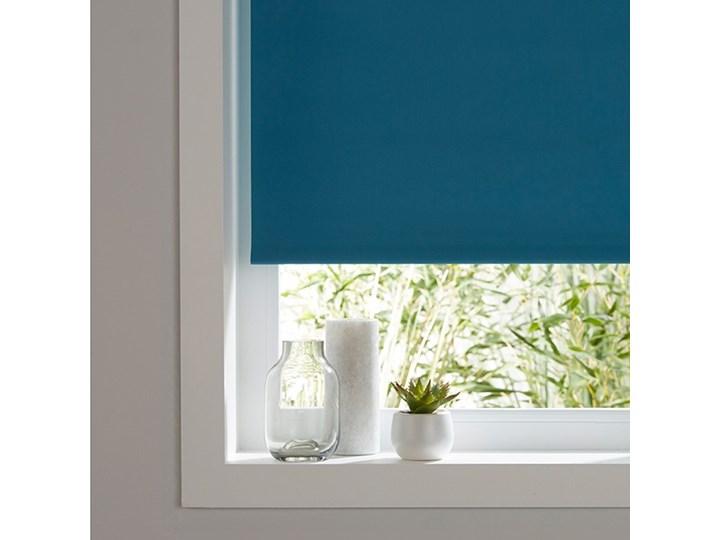 Roleta Colours Boreas 52 x 180 cm niebieska Roleta wolnowisząca Pomieszczenie Salon