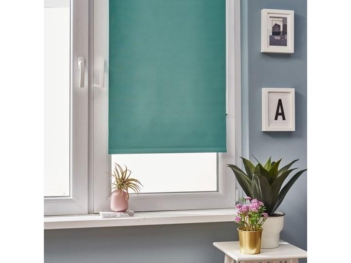 Roleta Colours Boreas 72 x 240 cm zielona Roleta wolnowisząca Pomieszczenie Jadalnia Pomieszczenie Pokój nastolatka