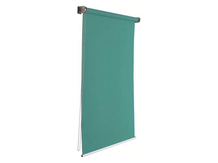 Roleta Colours Boreas 72 x 240 cm zielona Roleta wolnowisząca Pomieszczenie Sypialnia Kolor Turkusowy
