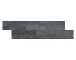 Kamień naturalny Slate 10 x 35 cm black 0,42 m2