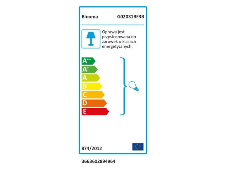 Latarnia Blooma Varennes 3 x 60 W E27 czarna Kolor Czarny Kategoria Lampy ogrodowe