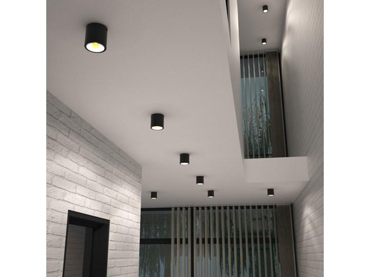 Oczko LED Colours Hera 850 lm czarne Oprawa led Oprawa stropowa Okrągłe Kolor Czarny
