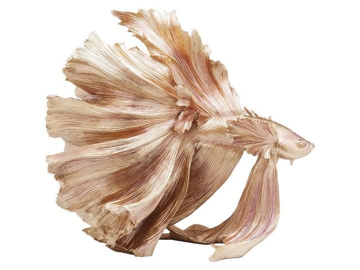 KARE DESIGN :: FIGURKA DEKORACYJNA BETTA FISH - ZŁOTA Ryby