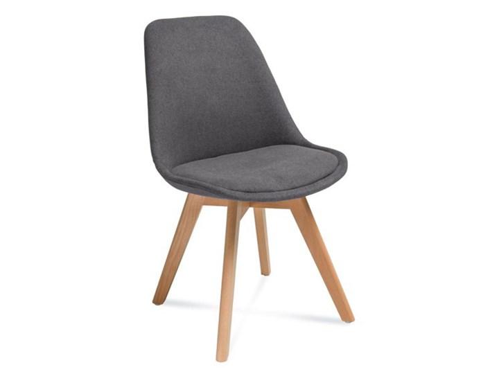 Krzesło FAGIO buk - ciemnoszare