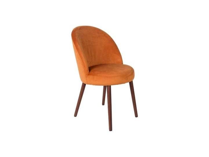 Dutchbone :: Krzesło BARBARA pomarańczowe