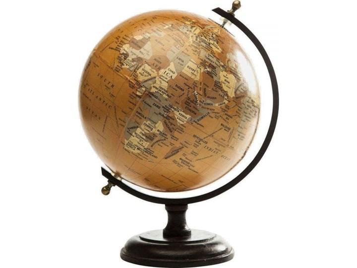 Globus dekoracyjny Vintage 23x28 cm żółty
