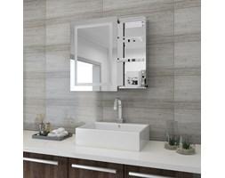 Szafka łazienkowa MAREA III wisząca z lustrem i oświetleniem LED
