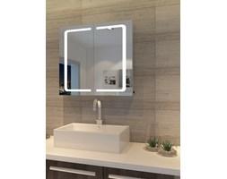 Szafka łazienkowa MAREA II wisząca z lustrem i oświetleniem LED
