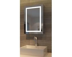 Szafka łazienkowa MAREA V wisząca z lustrem i oświetleniem LED