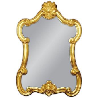 Ozdobne złote lustro 61x90 PU-039B