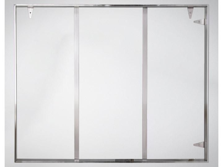 Srebrna oprawa obrazu wykonana z polerowanej stali nierdzewnej 161x61 TH18