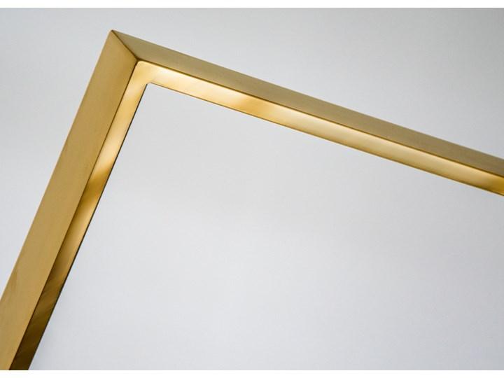 Złota oprawa obrazu wykonana z polerowanej stali nierdzewnej 161x161 TH18