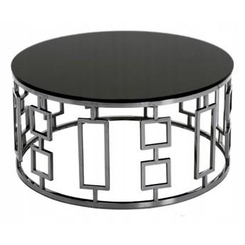 Okrągły stolik kawowy art deco Ø90 x 42 cm C415