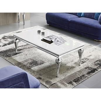 Biały stolik kawowy 130 x 70 x 40 cm C951