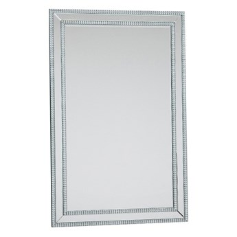 LUSTRO JS-48  75x115cm kryształki lustrzana rama