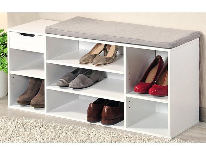 Szafka do przedpokoju, siedzisko o prostym ale stylowym designie uatrakcyjniające każde pomieszczenie Drewno Drewno