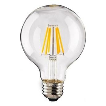 Żarówka Filamentowa LED 7W E27 G120 kulka barwa ciepła 2700K EKZF969