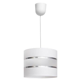 Lampa abażur HELEN W-0801/1 WT+SL+MAT