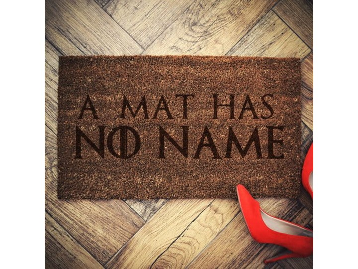 """MAT HAS NO NAME"" wycieraczka kokosowa"
