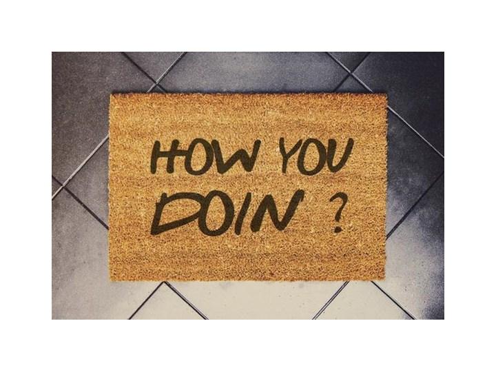 """""""How You Doin""""  wycieraczka kokosowa Włókno kokosowe Kategoria Wycieraczki"""